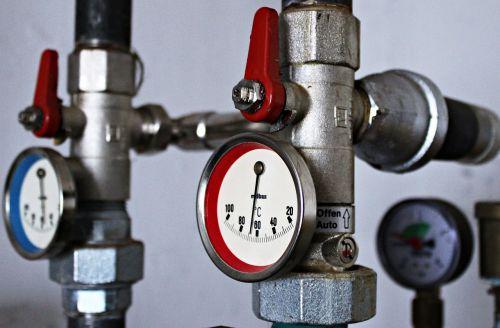 heating thermostat temparaturanzeige