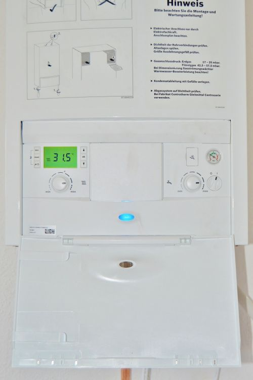 heating gas water heater cerapur