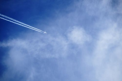 heaven aircraft flying