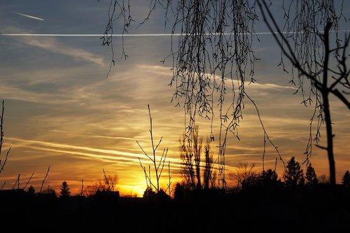 heaven  sunset  twilight