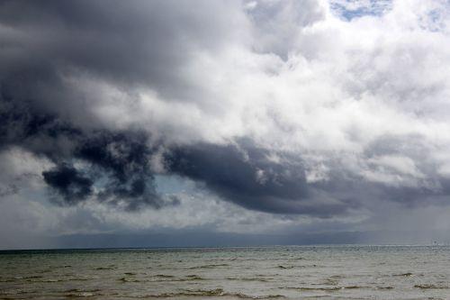 debesys, debesuota & nbsp, dangaus, sunkūs & nbsp, debesys, mėlynas & nbsp, dangus, gamta, dangus, Debesuota, kalnas, vandenynas, vanduo, papludimys, jūra, tapetai, fonas, sunkūs debesys ateina 2