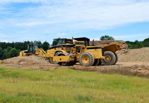 heavy construction construction site