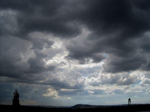 Heavy Dark Clouds