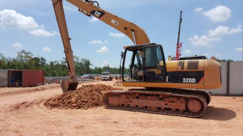 heavy equipment heavy machinery excavator