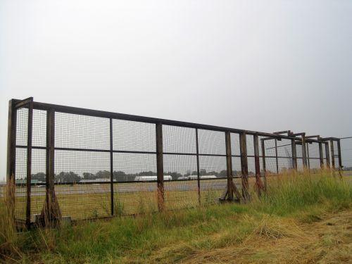 Heavy Gates On Rail