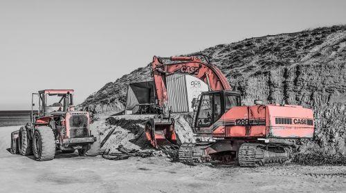 sunkiosios mašinos,buldozeris,krautuvas,statybvietė,ekskavatorius,statyba,mašinos,transporto priemonė