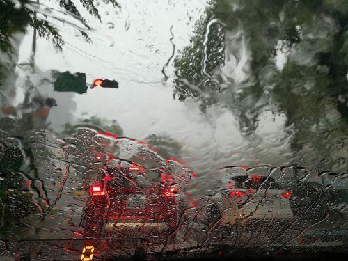 heavy rains summer the rainy season