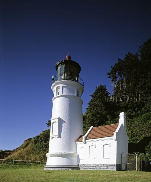 heceta head lighthouse light station ocean