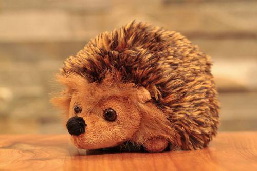 hedgehog animal soft toy