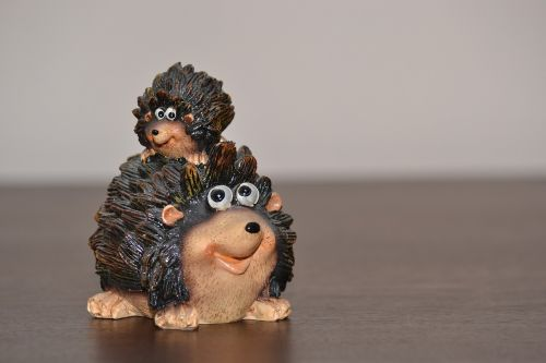 hedgehog funny ceramic