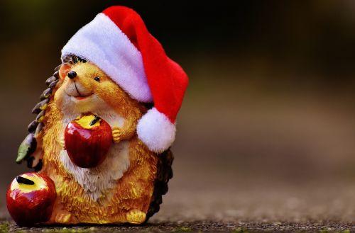 hedgehog figure christmas