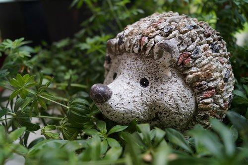 hedgehog  garden  decoration