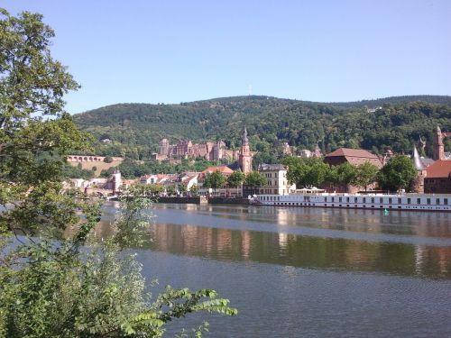 heidelberg city neckar