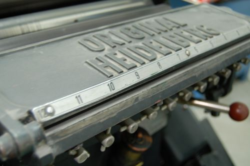 heidelberg crucible printing