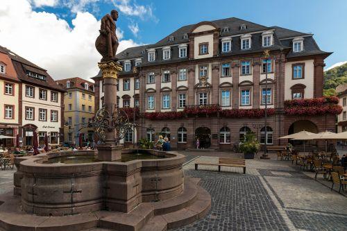 heidelberg marketplace town hall