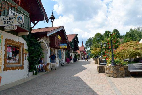 helen georgia alpine village german town