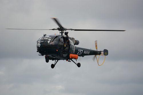 helicopter marine rotor