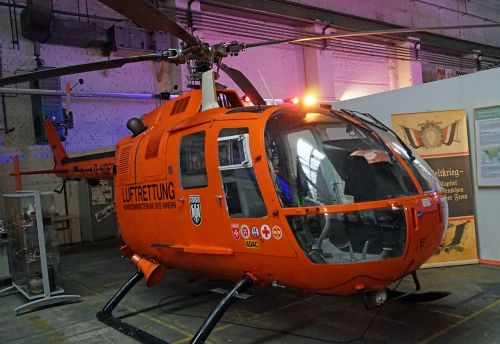 helicopter bo 105 air rescue