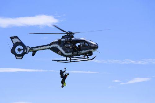 helicopter driver national gendarmerie