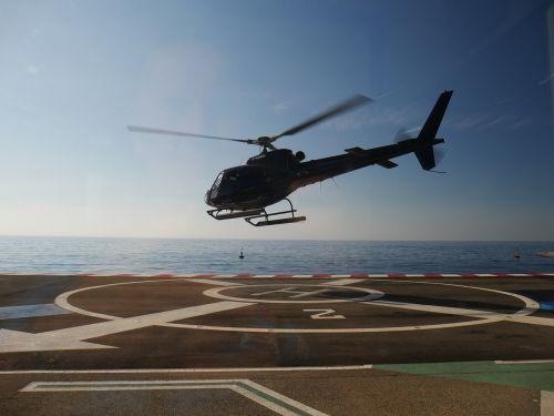 helicopter landing heli