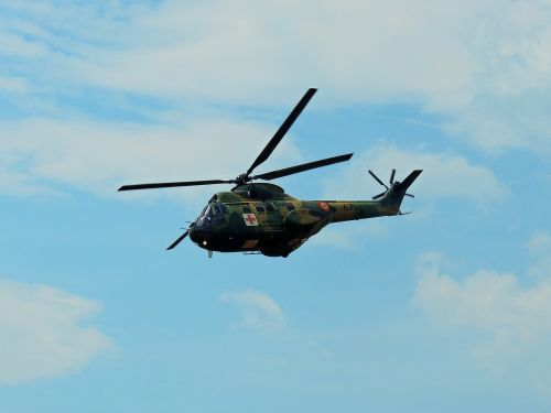 helicopter puma shocked aviation
