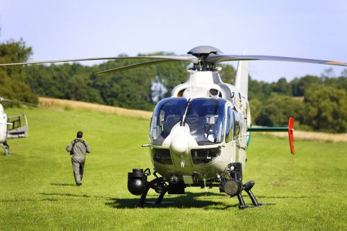 helicopter pilot police