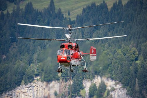 helicopter logging work