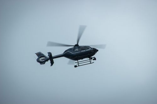 helicopter police air