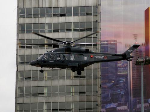 helicopter katowice leonardo