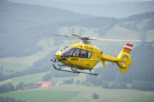helicopter christophorus9 yellow angel