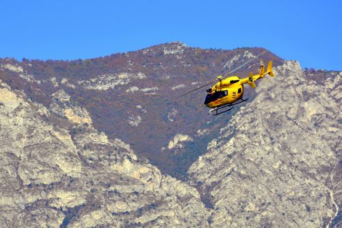 helicopter takeoff rescue