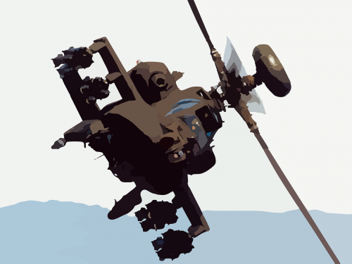 helicopter apache silhouette