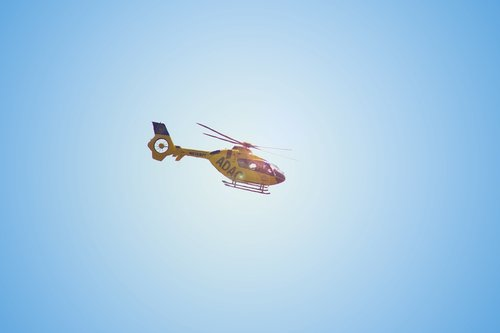 helicopter  aircraft  rescue helicopter