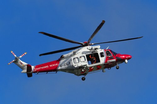 helicopter  coastguard  rescue