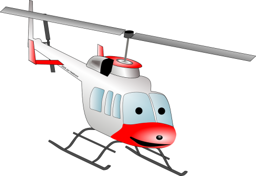 helicopter chopper cartoon