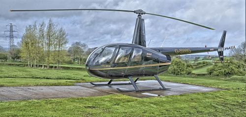 helicopter aviation robinson