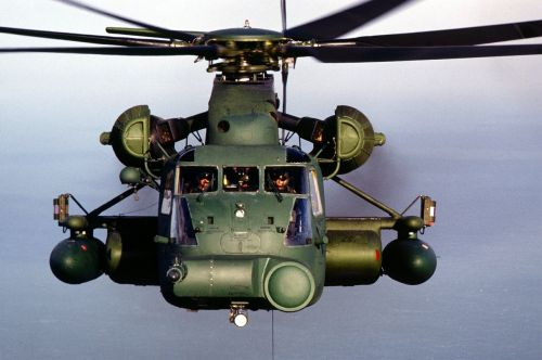 helicopter heavy lift helicopter frontal view