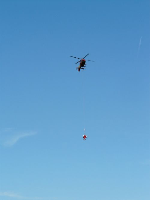 helicopter rescue mountain rescue