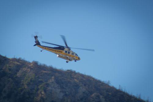 Helicopter Rescues Survivor