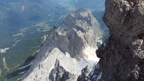 hell valley zugspitze summit