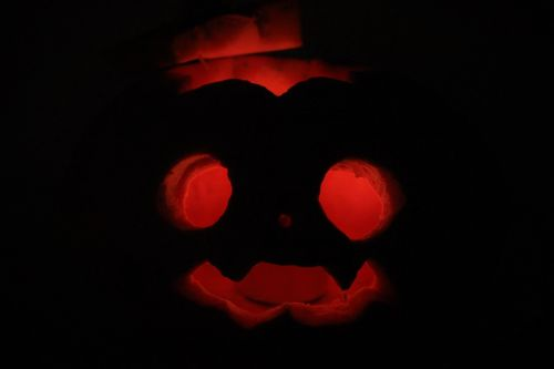 helloween pumpkin creepy