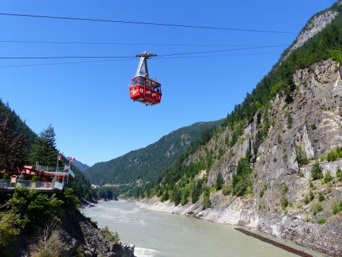 hells gate air tram river