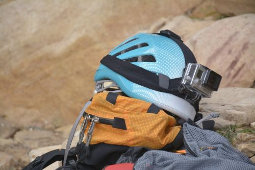 helmet climbing hiking