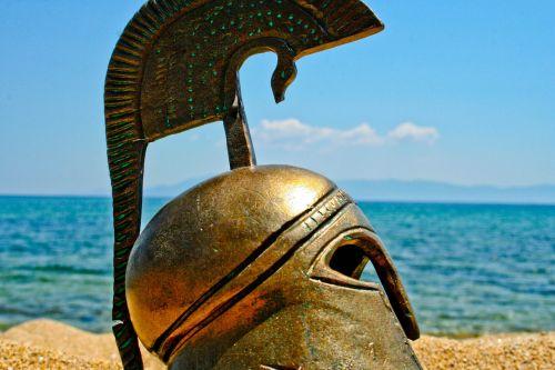 helmet greece ancient