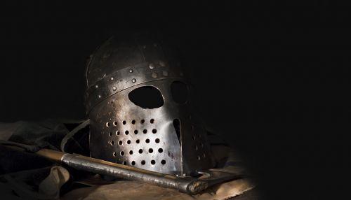 helmet axe vikings