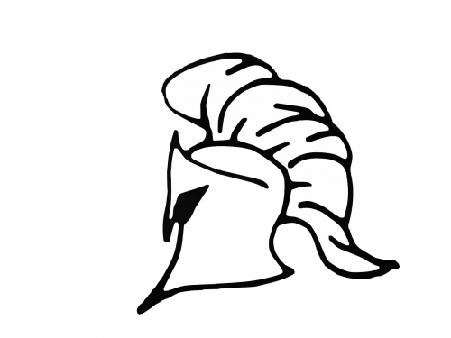 helmet greek warrior