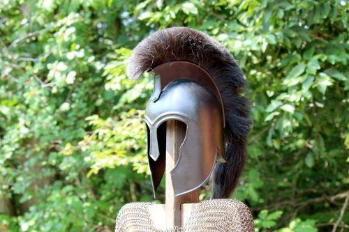 Helmet With Crest