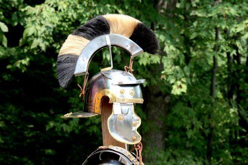 Helmet With Raised Crest