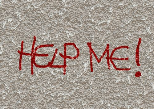 help wall grafitty