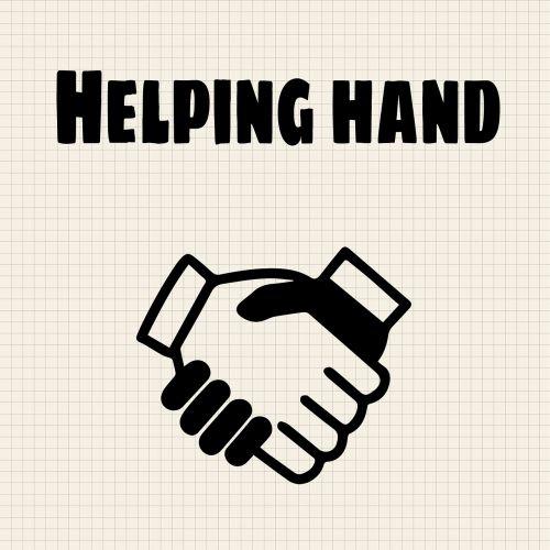 helping hand help handshake